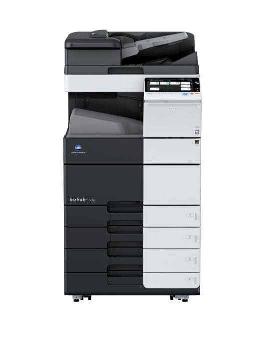 Konica Minolta bizhub 558e multifunktionsprinter