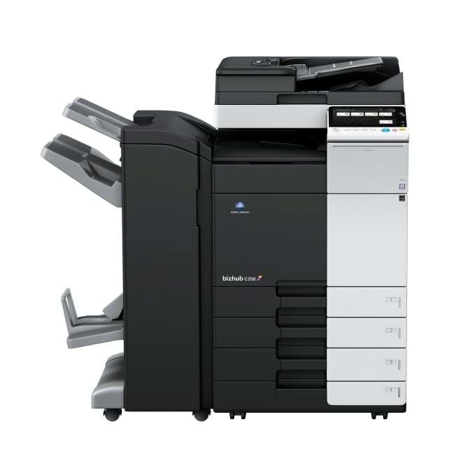 Konica Minolta bizhub c258 multifunktionsprinter
